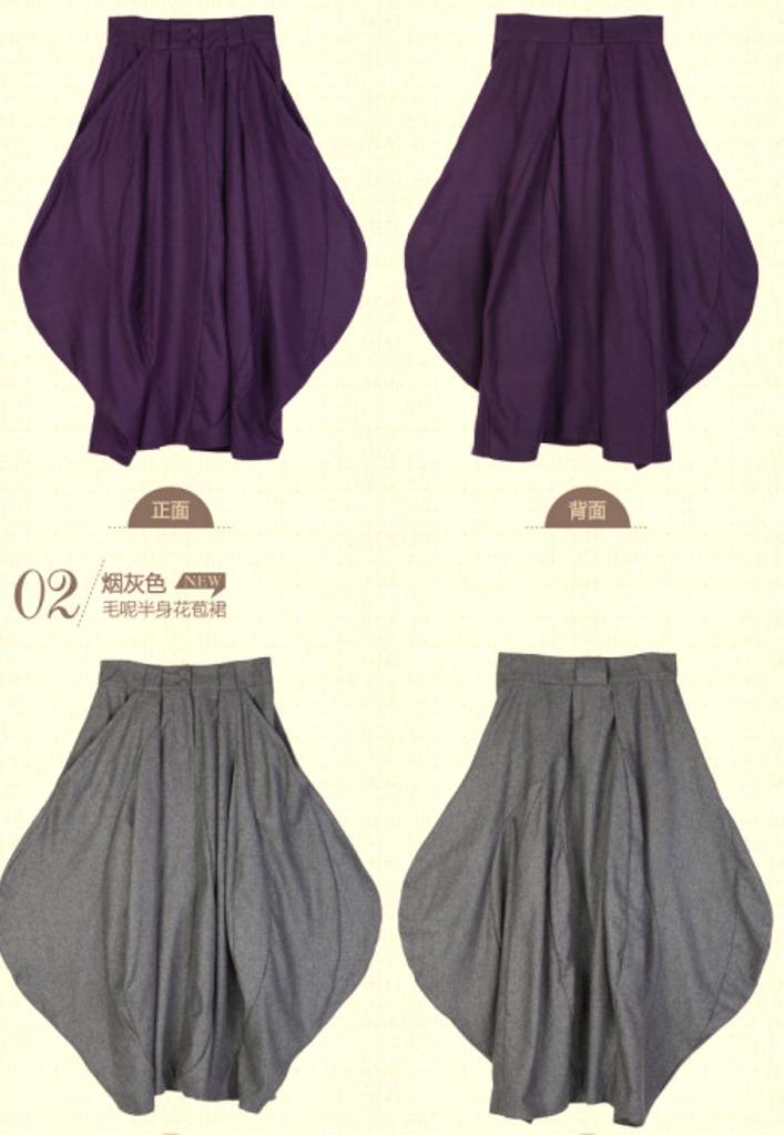 Как сшить юбку лепесток