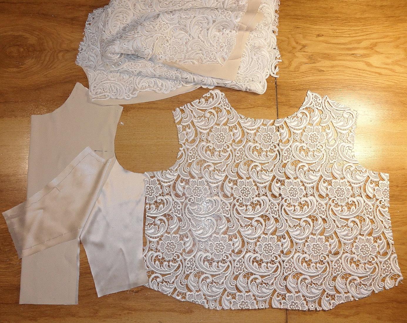Как сшить подклад для платья своими руками