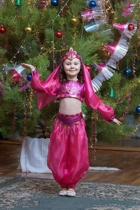 Восточная красавица костюм для девочки своими руками