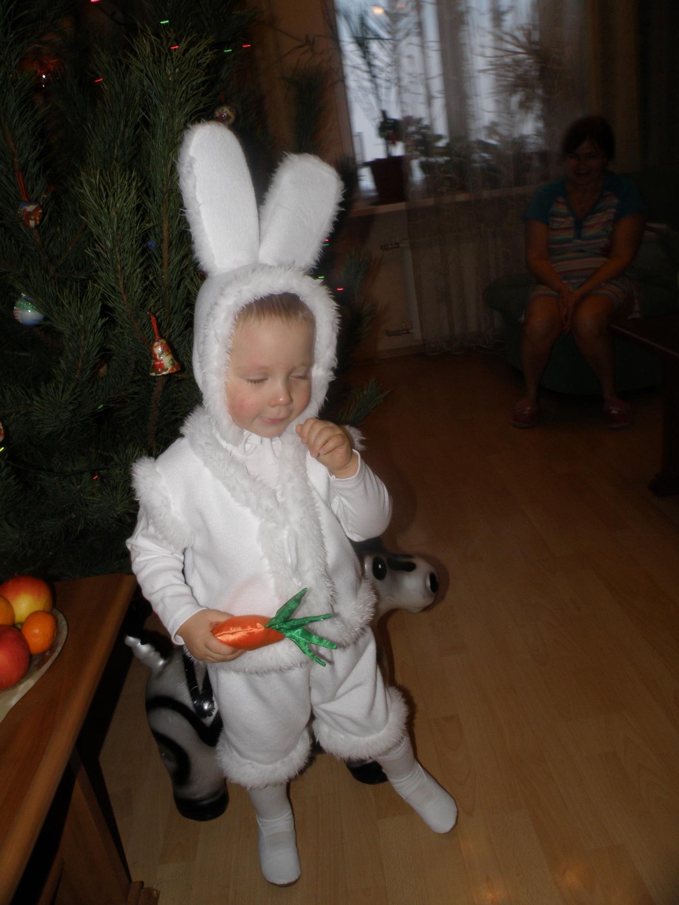 Карнавальный костюм зайчика своими руками фото 70