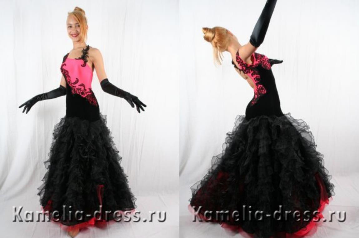 Фото моделей платьев для бального танца