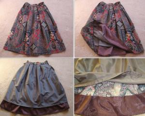 Подбой юбки
