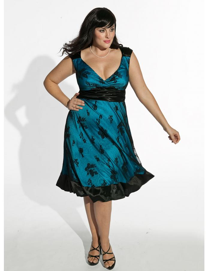 Новогодние платья для полных женщин своими руками